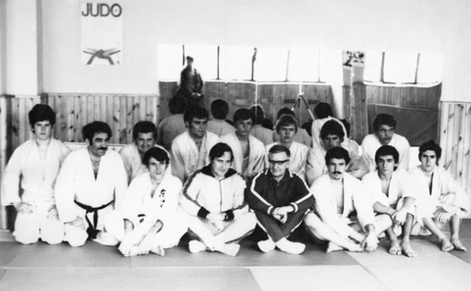Први самбо семинар у СФРЈ је држао Евгениј Чумаков, Нови Сад, 1972. године